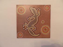 Gekkó - aboriginal