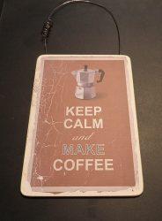 Kávés tábla