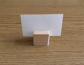 Névkártya tartó kocka