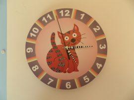 Macskás óra
