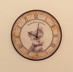 Yorkshire terrier kutyás óra
